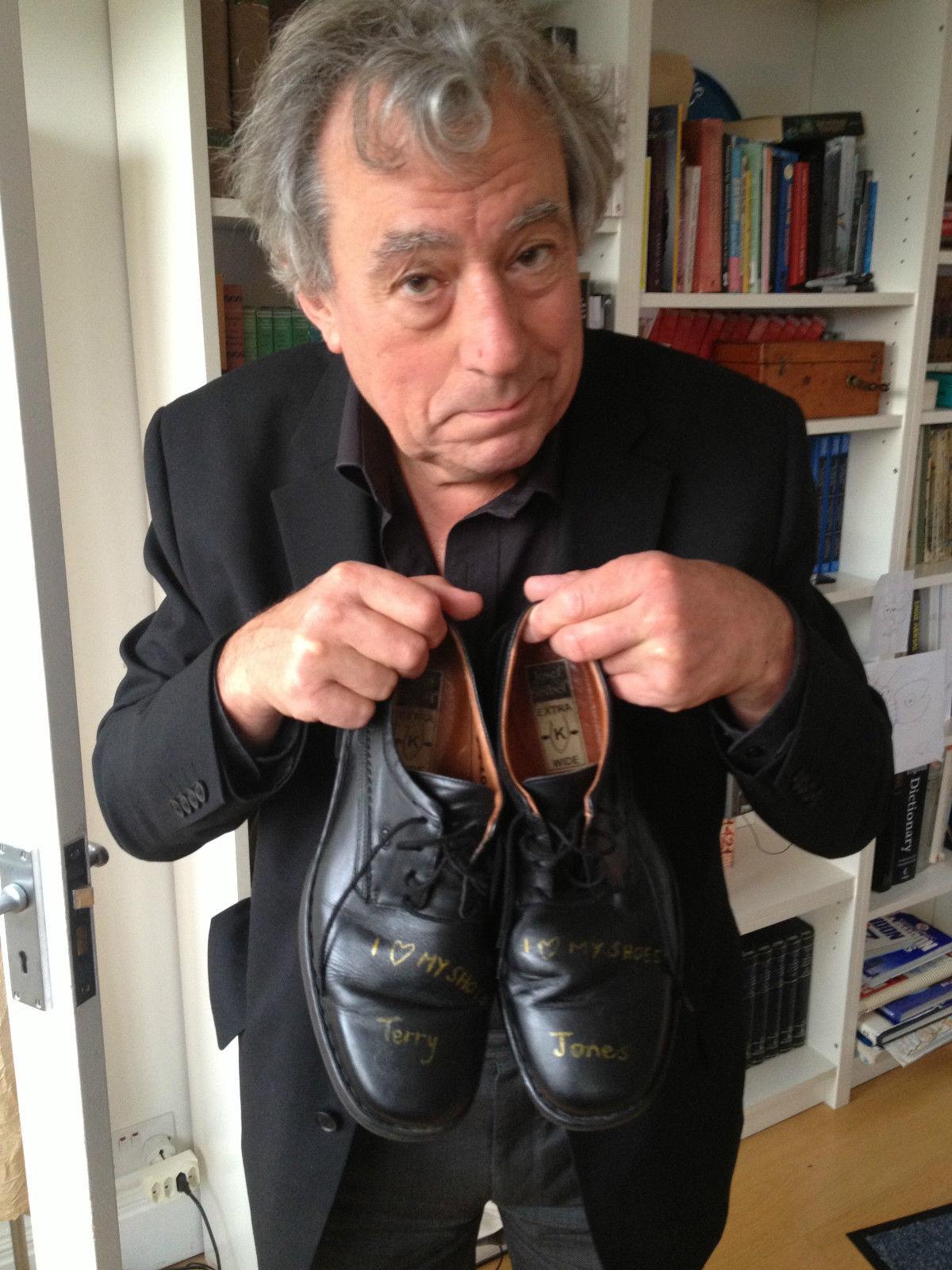 Jones sales his boots